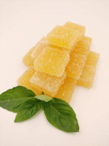 Pâtes de fruits Ananas / Basilic